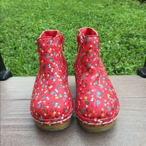 Floral Boot Clogs